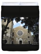Cathedral Of San Giusto Duvet Cover