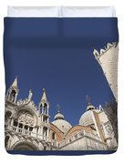 Cathedral Of San Marco  Duvet Cover