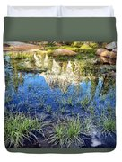 Cathedral Reflection Duvet Cover