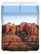Cathedral Rock 2 Duvet Cover by Ellen Henneke