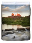 Cathedral Rock At Red Rock Duvet Cover