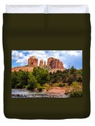 Cathedral Rock Duvet Cover by Fred Larson