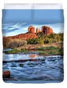 Cathedral Rock II Duvet Cover