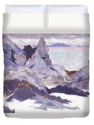 Cathedral Rock  Iona Duvet Cover