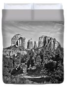 Cathedral Rocks Red Rock State Park Arizona Duvet Cover