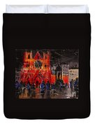 Cathedral Saint Jean-baptiste In Lyon Duvet Cover