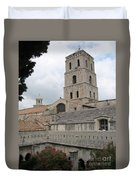 Cathedral Saint Trophime - Arles Duvet Cover