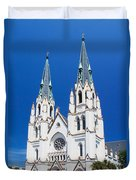 Cathedral, Savannah, Georgia Duvet Cover