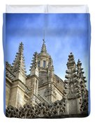 Cathedral Spires Duvet Cover