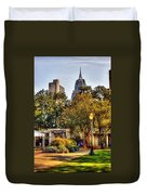 Cathedral Sq. And Rsa Duvet Cover