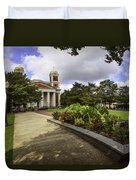 Cathedral Square And Church Duvet Cover