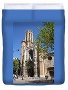 Cathedral St Sauveur - Aix En Provence Duvet Cover