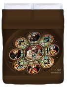Cathedral Stained Glass Duvet Cover
