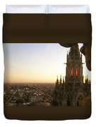 Cathedral Sunset - La Plata Duvet Cover