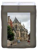Cathedrale Saint - Cyr - Et - Sainte - Julitte De Nevers Duvet Cover