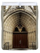 Catherdral Door's Duvet Cover