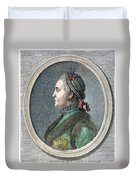 Catherine II Of Russia (1729-1796) Duvet Cover