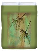 Catkins -- Tree-flowers Duvet Cover