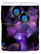 Cats 006-13 - Marucii Duvet Cover