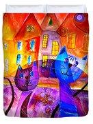 Cats 0366 Marucii Duvet Cover