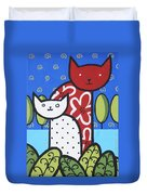 Cats 1 Duvet Cover