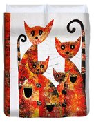 Cats 727 Duvet Cover