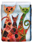 Cats 737 - Marucii Duvet Cover