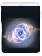 Cat's Eye Nebula Duvet Cover