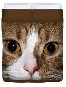 Cats Face Duvet Cover