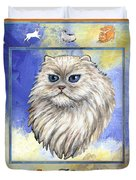 Cats Purrfection Four - Persian Duvet Cover