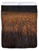 Cattail Bog   #3868 Duvet Cover