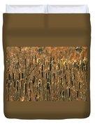 Cattail Marsh Duvet Cover