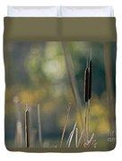 Cattails Duvet Cover
