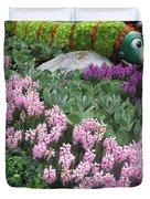 Catterpillar Large Flower Garden Vegas Duvet Cover
