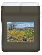 Cattle Camp Duvet Cover