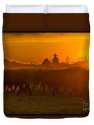 Cattle Drive 20 Duvet Cover