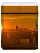 Cattle Drive 21 Duvet Cover
