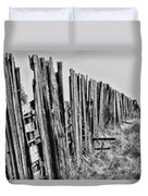 Cattle Fence By Diana Sainz Duvet Cover