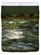 Caught By The Water Duvet Cover