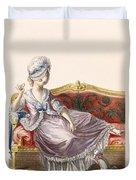 Cavaco A La Polonaise, Engraved Duvet Cover