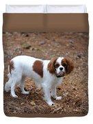 Cavalier Dog Duvet Cover