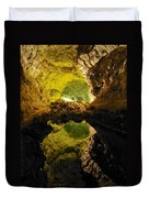 Cave On Lanzarote Duvet Cover