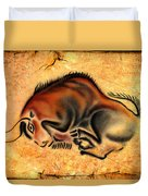 Cave Painting Duvet Cover