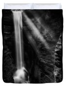 Cavern Cascade Duvet Cover by Bill Wakeley