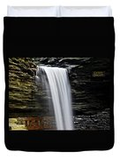 Cavern Cascade Duvet Cover by Frozen in Time Fine Art Photography