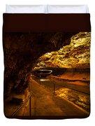 Cavern River Path Duvet Cover