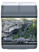 Caves In The Bahamas Duvet Cover