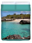 Cayman Beach Duvet Cover