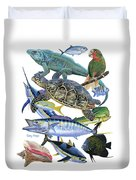 Cayman Collage Duvet Cover