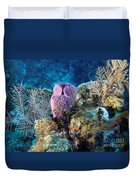 Cayman Reef Duvet Cover